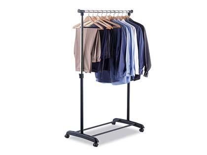 Rolling garment rack 7